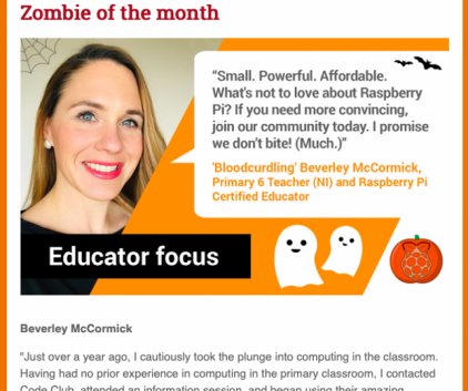 Mrs McCormick - Educator of the Month