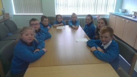 The first School Council Meeting on 25 September